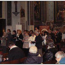 Saint André les  Alpes : Première fête de la Saint André pour la paroisse