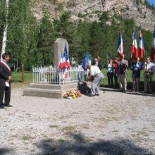 Pont d'Ondre Commémoration 71 eme anniversaire