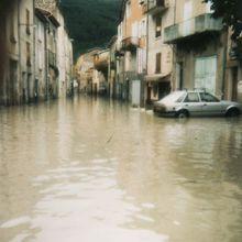 Barrême  :            quand on s'proméne au bord de l'eau ....