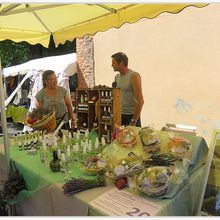Les artisans de Saint André les Alpes  fêtent la lavande