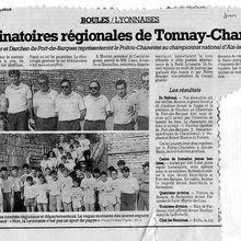 1992.06. Eliminatoires régionales Tonnay-Charente
