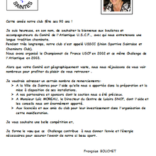 31 mars et 1er avril 2015 Challenge de l'Atlantique