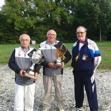2015.08.23 Tonnay Charente Jean LOPEZ et Jean-Louis BOUCHET gagnent le concours 4ème division