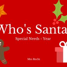 Santa Claus pour les segpas