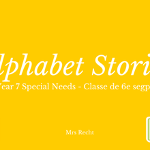 eTwinning - Alphabet Stories