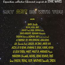 "EXPOSITION "" may art be with you "" galerie la bohème Deauville"