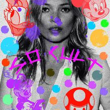New ARTPRINT !!! Kate Moss is SO CULT