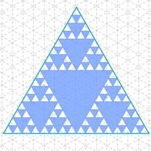 Triangles & tapis de Sierpinski dans l'Atelier de Tottoer !