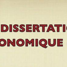 Evelyne Delorme (2): Méthodologie de la dissertation économique