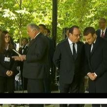 Abolition de l'esclavage : Hollande et Macron de nouveau côte à côte