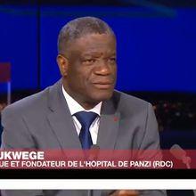 """Dr Mukwege : """"Il faut retourner à l'ordre constitutionnel en RDC"""""""