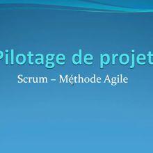 Pilotage de projets #3 : Scrum - Une Méthode Agile