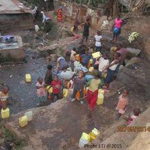 Bukavu, des habitants accèdent difficilement à l'eau potable