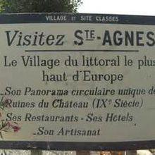Chemin de croix,Ste Agnès,je souffre...