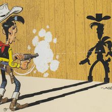 Blog à part.... Lucky Luke, a poor lonesome cowboy.