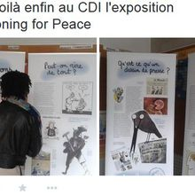Exposition Cartooning for Peace