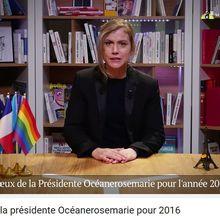 Les vœux de la présidente Océanerosemarie pour 2016