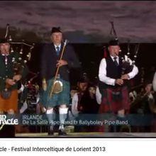 Le grand spectacle - Festival Interceltique de Lorient 2013