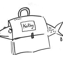 """"""" l' hareng trée """" de Kathy..."""