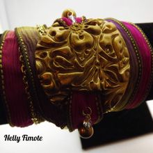 Les bracelets multi-tours de Nelly Fimote
