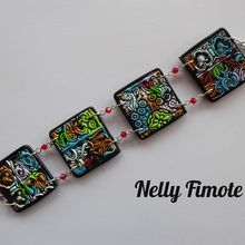 Nelly Fimote en multicolore