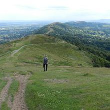 Mystery holes on Malvern Hills are blamed on rogue metal detector enthusiasts