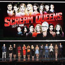 """""""Scream Queens"""" sera lancé le mardi 22 septembre sur FOX : Ryan Murphy détaille le concept et révèle que seulement 4 personnages survivront à la saison 1"""