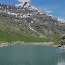 Glacier du Couart Dessus (3200m) par le col de la Bailletta