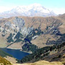 Lacs de la Tempête et Grand Mont  (2686m)