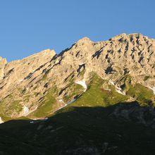 Le Roignais (2995m) par le couloir Nord Est