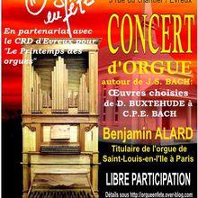 Concert du 22 avril 2016 à Evreux