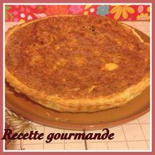"""~~quiche au thon et oignon frit a la moutarde et keloks """""""
