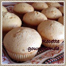 Muffins au caramel beurre sale