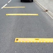 Expérimentation de bandes de prévention chantier (Sécurité des voies)