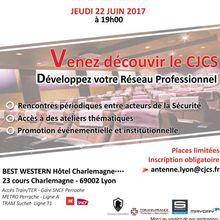 Club des Jeunes Cadres en Sûreté (CJCS): Ouverture d'une antenne à Lyon !