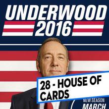 [CLASSEMENT] - 28 - House of Cards (US) (Saison 4)