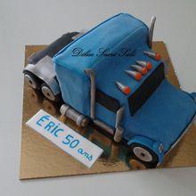 Gâteau Thème Camion