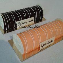 Bûche Mangue / Vanille & Poire / Chocolat
