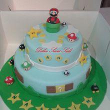 Gâteau Thème Mario