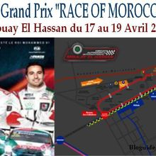 La 6éme édition du Marrakech Grand Prix « Race Of Morocco » du 17 au 19 Avril 2015