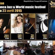 La dixième édition du Festival Jazzablanca du 18 au 23 Avril 2015 à Casablanca