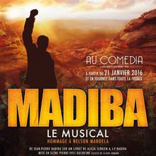 MADIBA : SPECTACLE MUSICAL EN HOMMAGE A NELSON MADELA