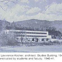 Le Black Mountain College, une école d'art expérimentale américaine (1933-1957), par Anne-Maya Guérin, Historienne de l'art.
