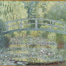 Claude Monet, peintre de l'insaisissable.