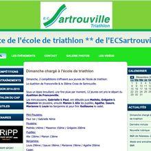 Tripp Sport partenaire de l'école de Triathlon de Sartrouville