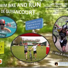 SWIM, BIKE and RUN de GUYANCOURT