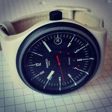 La petite dernière : une Swatch Sistem51 Cream
