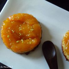 Tartelette Tatin de Mangue