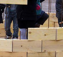 Construction de la Capsule de Francheville