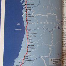 itinéraire au Portugal